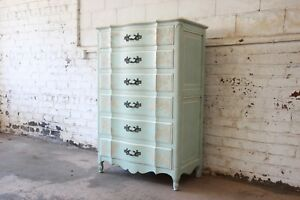 John Widdicomb French Provincial Louis Xv Style Highboy Dresser