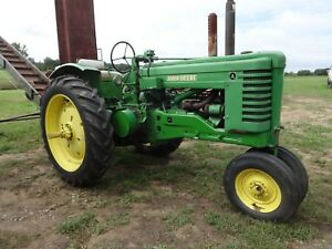 John Deere A Tractor Power Steering Fenders Hydraulics 3 Point