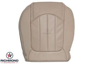 2010 2011 Buick Enclave 1xl 2xl Cx Cxl driver Side Bottom Leather Seat Cover Tan