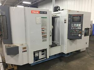 Mazak Htc 400 Horizontal Maching Center 1998 Parting Out For Parts Make Offer