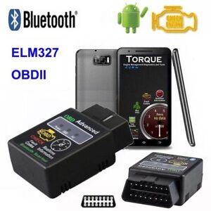 Obd2 Elm327 V2 1 Bluetooth Car Scanner Android Torque Auto Diagnostic Scan Tool