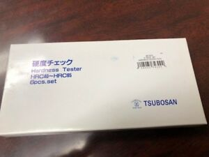 Tsubosan Ma00600 Hardness Tester Checker File Hrc40 hrc65 Set From Japan