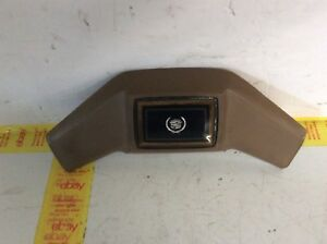 1984 Cadillac Steering Wheel Horn Pad Dark Briar Brown Tested Oem
