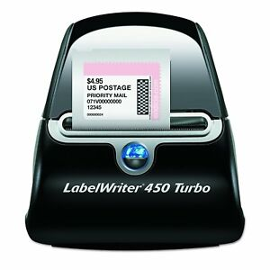 Shipping Label Printer Maker Commercial Thermal Dymo Labelwriter 450 Barcode New