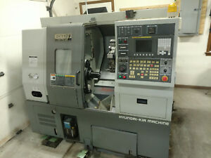 2006 Hyundai Kia Skt100 Turning Center Cnc Lathe With Tooling