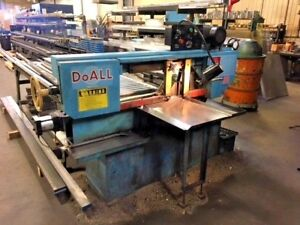Doall Horizontal Band Saw C 916 9 X 16