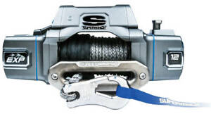 Super Winch Exp8si 12000 Lb Winch Sy Thetic Rope Hawse