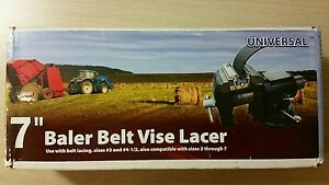 New 7 Clipper Vise Lacer Tool Round Hay Baler Belt Lacer Apache Sale