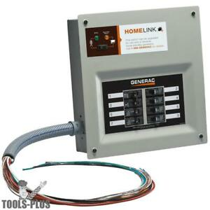 Generac 6852 30 amp Homelink Upgradeable Pre wired Manual Transfer Switch New