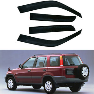 For 98 01 Honda Crv Vent Window Visor Shade Shades Visors Rain Guards 4pieces