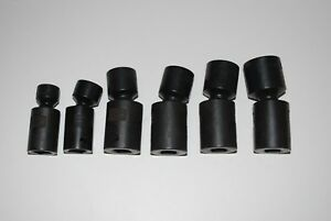 Craftsman Industrial 6 Pc 6 Pt 1 2 Drive Metric Impact Swivel Socket Set Usa