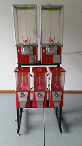Vending Gumball Machines 5 rack Eagle