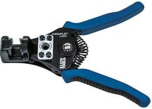New Klein Tools Katapult Wire Stripper cutter 8 22 Awg 11063w
