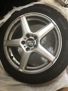 17 Msw Type 14 Wheels Oz Wheels 17x7 5 5x120 Et34 Silver 4 Available