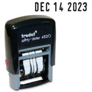 Trodat Printy 4820 Self Inking Dater Stamp 74005