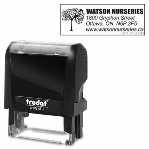Trodat Climate Neutral 4915 Self inking Stamp 97456