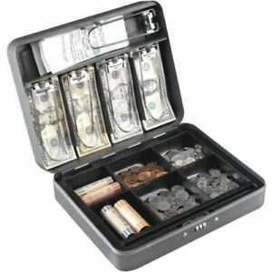 Mmf Cash Box With Combination Lock 2216190g2