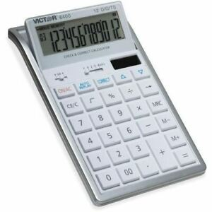 Victor 6400 Professional Desktop Calculator 6400