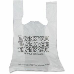 Prime Source Plastic Thank You Bags 76001056