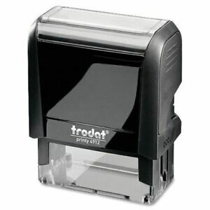 Trodat Bank Deposit Large Address Stamp 87399