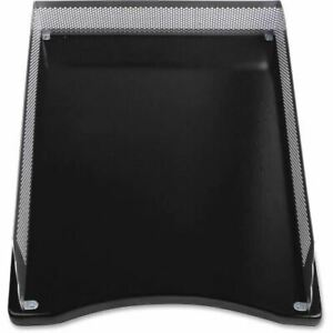 Lorell Metal wood 2 color Front Load Tray 80629