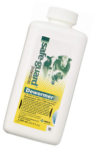 Merck Safe guard Dewormer Suspension For Beef Dairy Cattle And Goats 1000ml