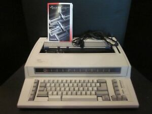 Ibm Personal Wheelwriter 2 Lexmark Typewriter Reprint Spell Check 6781 025 Works