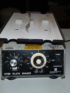 Lab line Titerplate Orbital Shaker Variable Speed Minishaker Microplate Platform