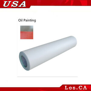 0 69x31yard Oil Painting Cold Laminating Film For Laminator Adhesive Glue Pvc