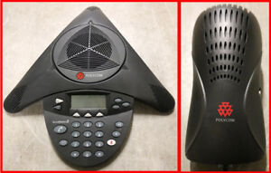 Polycom Soundstation 2 Conference Phone 2201 16000 001 With Wall Module