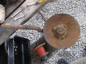 Ih Farmall Mccormick Plow Rolling Cutter Coulter