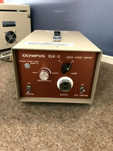 Olympus Clk 3 Light Source Console Cold Light