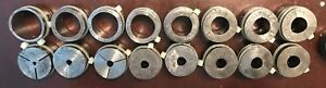 Warner And Swasey Turret Lathe Collet Pads qty 27