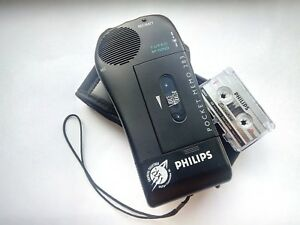Philips Pocket Memo 283 Hendheld Voice Recorder Tape Recorder Dictaphone