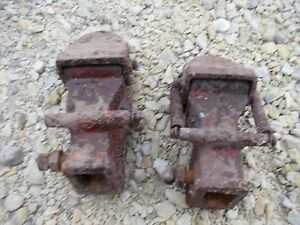 Allis Chalmers Wd Wd45 45 Tractor Ac Snap Coupler Hands Hand Couple Rockshaft