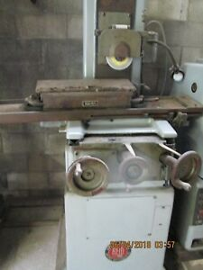 Reid Surface Grinder 618 h Pope Spindle W walker Perm Mag chuck Serial 10955