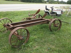 Hit Miss Engine Truck Cart Wagon Large Size For Bigger Engines
