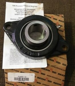 Nos Mb 2 Bolt Flange 1 1 2 Bearing Fc2251 12 Pillow Block