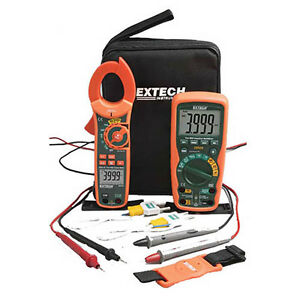 Extech Ma620 k Industrial Dmm clamp Meter Test Kitcat Iv Multimeter