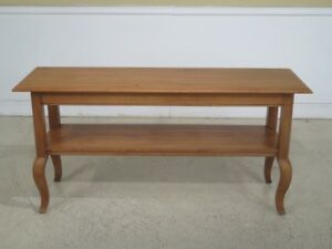 F44324ec Ethan Allen Legacy Collection Country French Sofa Table
