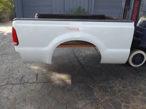 Ford F250 F350 White Short Bed 1999 2010 Super Duty Stock Jowsb Box Truck