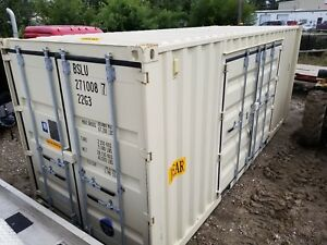 Bsl 20 Shipping storage Container New One Shipment Swinging Side