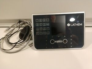 Lathem Facein Facial Recognition Time Clock Model Fr650