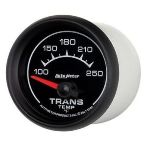 Auto Meter 5949 Gauge Transmission Temp 2 1 16 100 250 Electric Es