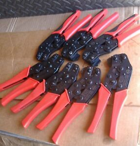 Molex Hand Crimper Assorted Lot Of 7