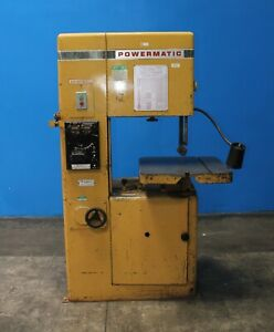 20 Throat Powermatic 87 Vertical Metal Cutting Bandsaw 1hp