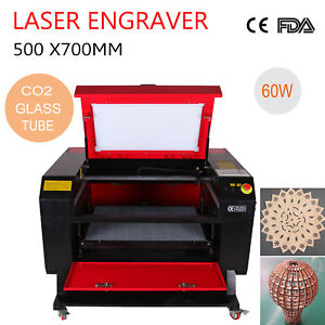 110v 60w Usb Co2 Laser Engraving Cutting Machine Laser Engraver Cutter Ce Fda