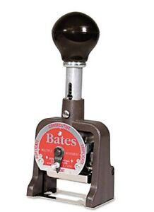 Bates Standard Multiple Movement Numbering Machine