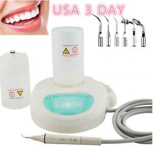 Usa Dental Piezo Ultrasonic Scaler Self Contained Water With 2 Bottle Handpiece