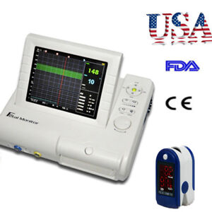 8 4 Fhr Toco Fetal Doppler Movement Fetal Monitor Fetal Maternal Monitor Gift